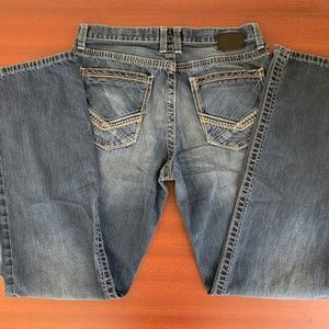 BKE Jeans - BKE Tyler Bootcut Distressed Pockets